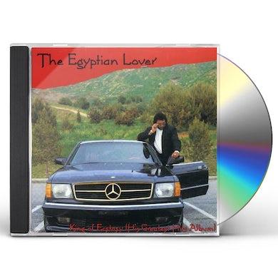 Egyptian Lover KING OF ECSTASY: GREATEST HITS CD