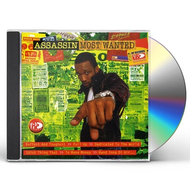 Assassin MOST WANTED CD