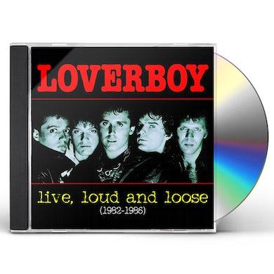 Loverboy LIVE LOUD & LOOSE 1982-1986 CD