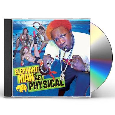 Elephant Man LET'S GET PHYSICAL CD