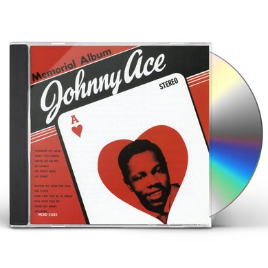 Johnny Ace MEMORIAL ALBUM CD