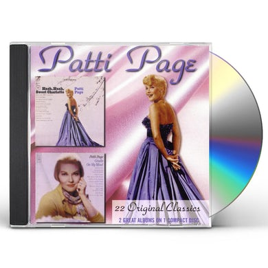 Patti Page HUSH HUSH SWEET CHARLOTTE / GENTLE ON MY MIND CD