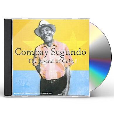 Compay Segundo LEGEND OF CUBA CD