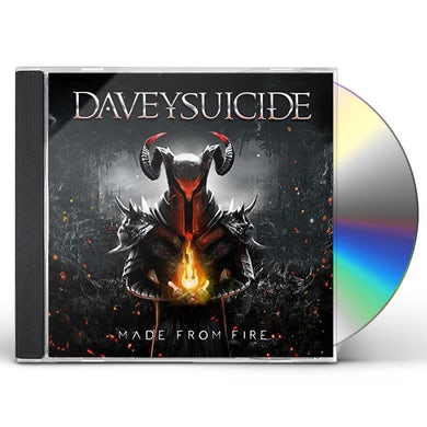 Davey Suicide MADE FROM FIRE CD