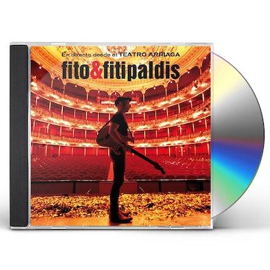 Fito & Fitipaldis EN DIRECTO DESDE EL TEATRO ARRIAGA CD