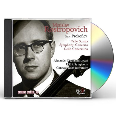 Mstislav Rostropovich PLAYS PROKOFIEV CD
