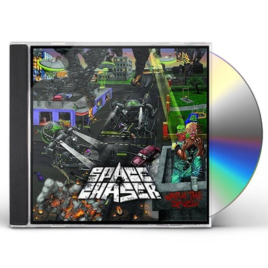Space Chaser WATCH THE SKIES CD