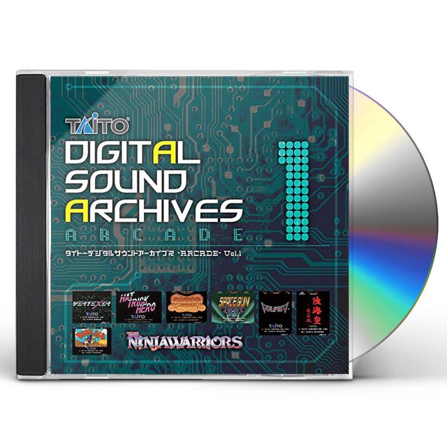Game Music TAITO DIGITAL SOUND ARCHIVES VOL 1 / Original Soundtrack CD