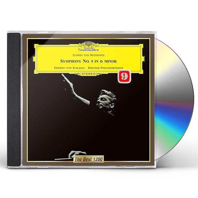 Herbert Von Karajan BEETHOVEN: SYMPHONY NO. 9 CHORAL CD
