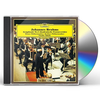 BRAHMS: SYMPHONY NO. 1. ACADEMIC CD