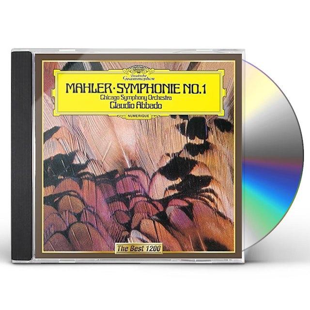 Claudio Abbado MAHLER: SYMPHONY NO. 1 CD