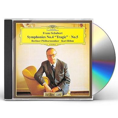 Karl Bohm SCHUBERT: SYMPHONIES NO. 4 CD