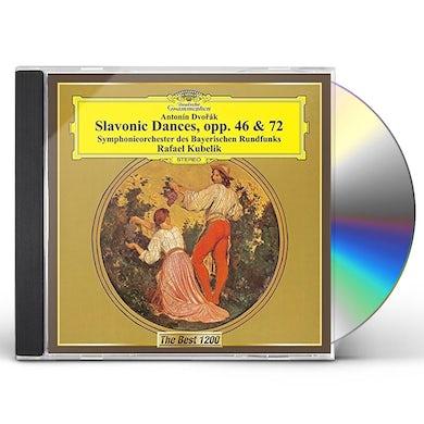 Rafael Kubelik DVORAK: SLAVONIC DANCES OP. 46 & OP. 7 CD