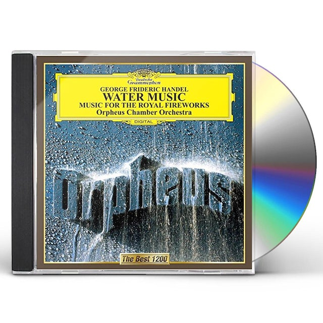 Orpheus Chamber Orchestra HANDEL: WATER MUSIC. MUSIC FOR THE CD