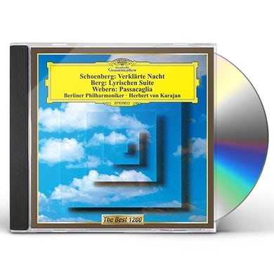 Herbert Von Karajan  SCHOENBERG: VERKLARTE NACHT CD