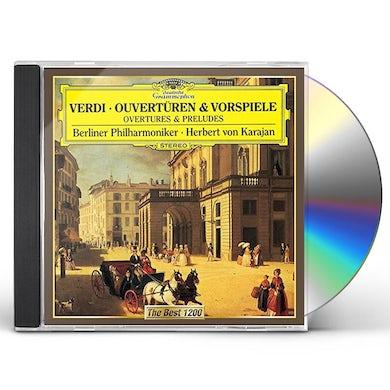 Herbert Von Karajan  VERDI: OVERTURES CD