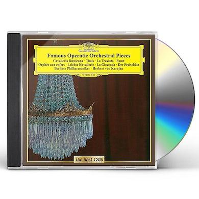 Herbert Von Karajan  FAVORITE OPERATIC ORCHESTRAL WORKS CD
