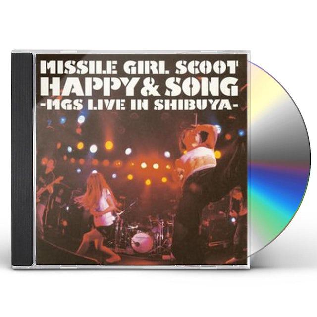Missile Girl Scoot LIVE SHIBUYA QUATTORO CD
