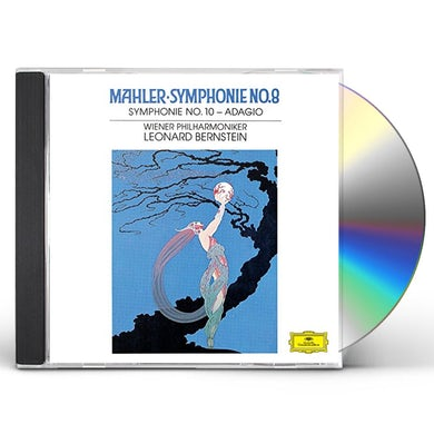 Mahler / Leonard Bernstein MAHLER: SYMPHONIES 8 & 10 CD