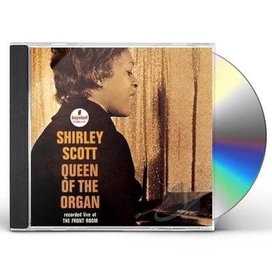 Shirley Scott QUEEN OF THE ORGAN CD