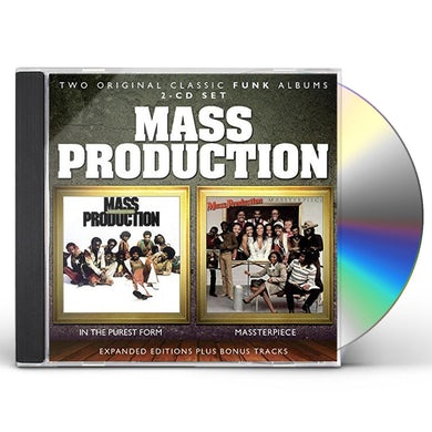 Mass Production IN THE PUREST FORM / MASSTERPIECE CD