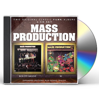 Mass Production IN A CITY GROOVE / 83 CD
