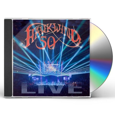 Hawkwind 50 LIVE CD
