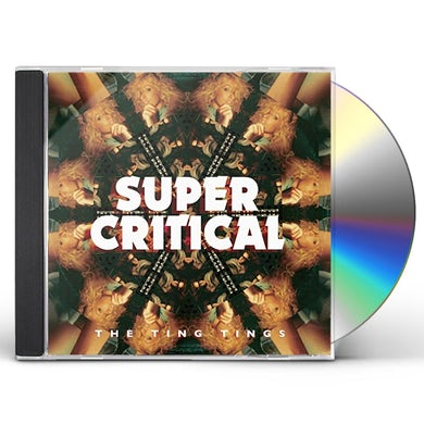 The Ting Tings SUPER CRITICAL CD