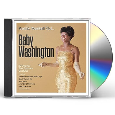 Baby Washington KNOCK YOURSELF OUT / BEST OF CD