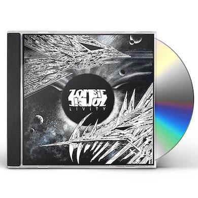 Zombie Zombie LIVITY CD