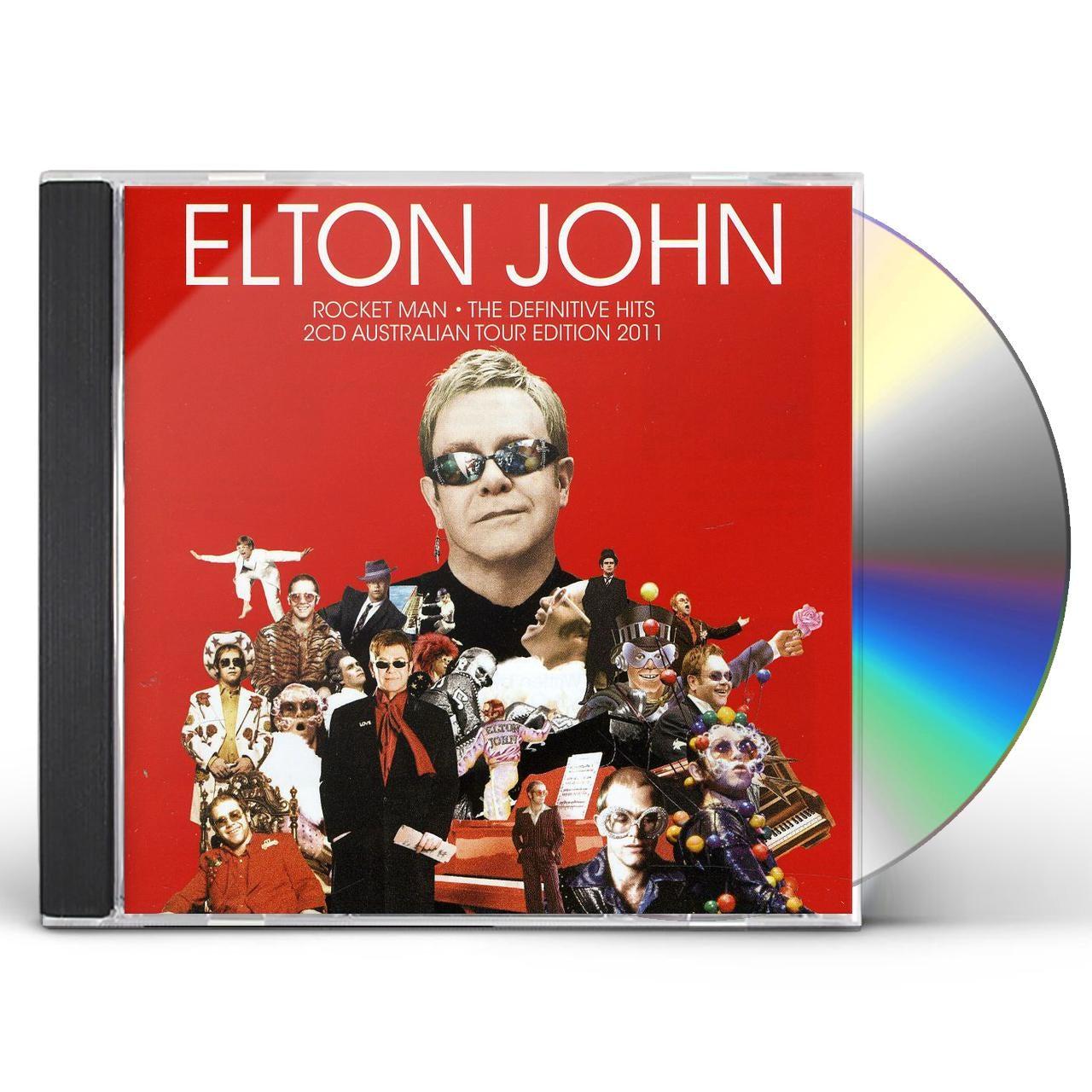 Elton John Rocket Man Definitive Hits Cd