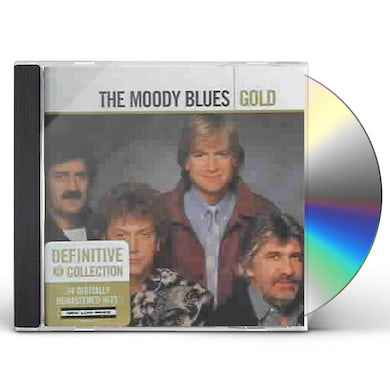 The Moody Blues GOLD CD