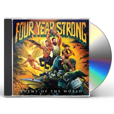 Four Year Strong ENEMY OF THE WORLD CD