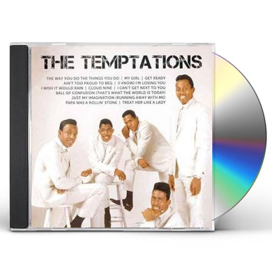 The Temptations ICON CD