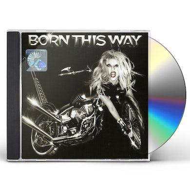 Lady Gaga BORN THIS WAY (INT'L VERSION) CD