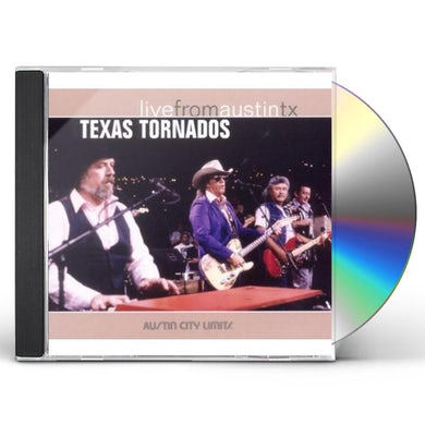 Texas Tornados LIVE FROM AUSTIN TX CD