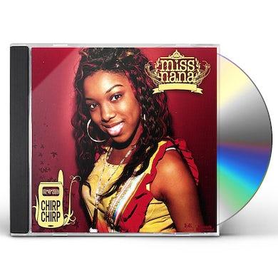 Miss Nana CHIRP CHIRP ' PLUS UNRELEASED SONGS CD