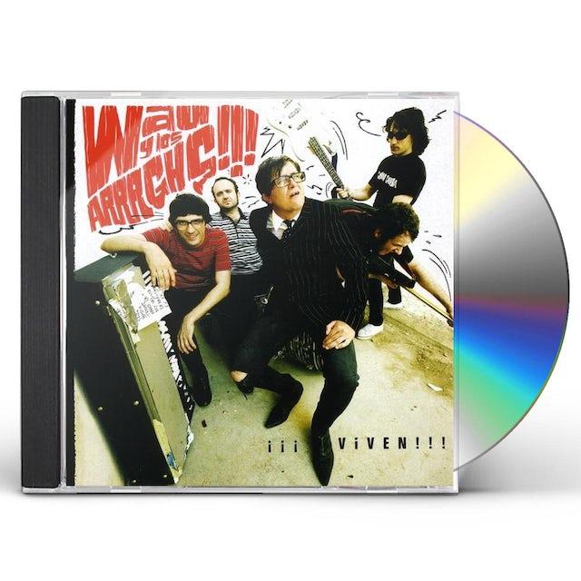 Wau Y Los Arrrghs VIVEN CD