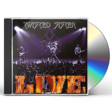 Twisted Sister LIVE AT HAMMERSMITH CD