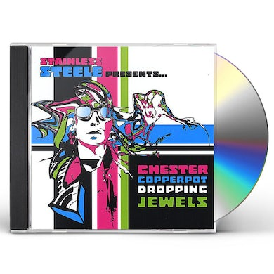 STAINLESS STEELE CHESTER COPPERPOT DROPPING JEWELS CD