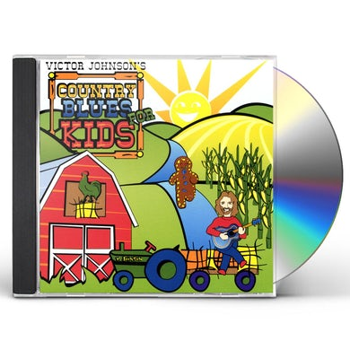 Victor Johnson COUNTRY BLUES FOR KIDS CD
