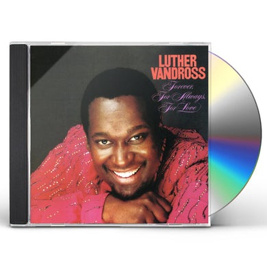 Luther Vandross FOREVER FOR ALWAYS FOR LOVE CD