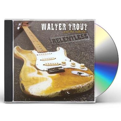 Walter Trout RELENTLESS CD