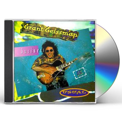 Grant Geissman BUSINESS AS USUAL CD