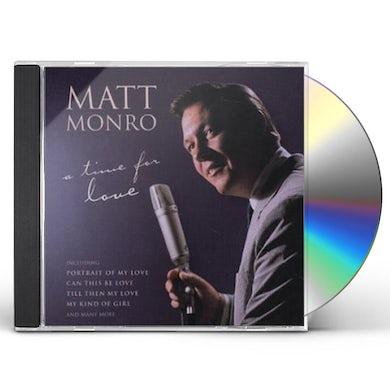 Matt Monro TIME FOR LOVE CD