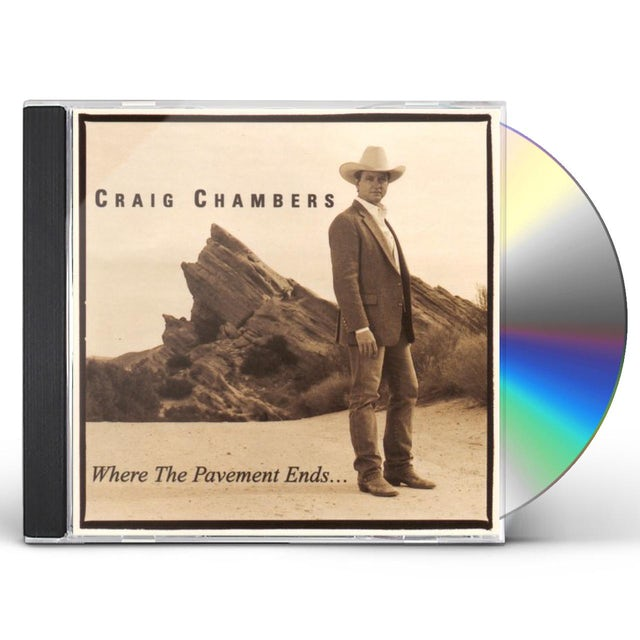 Craig Chambers WHERE THE PAVEMENT ENDS CD