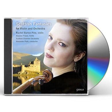 Rachel Barton Pine SCOTTISH FANTASIES FOR VIOLIN & ORCHESTRA CD