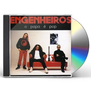 Engenheiros do Hawaii O PAPA E POP CD