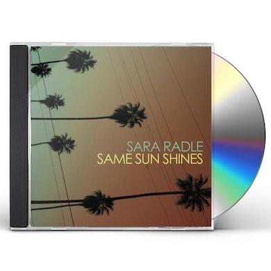 Sara Radle SAME SUN SHINES CD