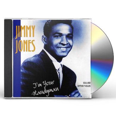 Jimmy Jones I'M YOUR HANDYMAN CD